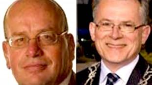 Staatssecretaris Teeven en burgemeester Schuiling (foto Binnenlands Bestuur)