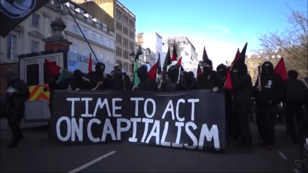 Time to Act on Capitalism (foto The Iconoclast)