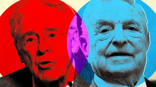 Koch and Soros Funding New 'Anti-War' Think Tank (foto The Daily Beast)