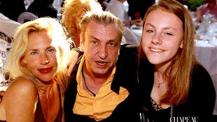 Rob met zijn vrouw Lijsje en zijn dochter Anaïs (foto Chapeau)