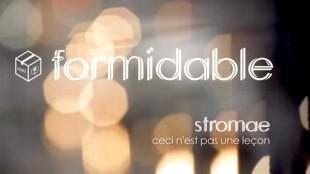 Stromae – Formidable (Ceci n'est pas une leçon)