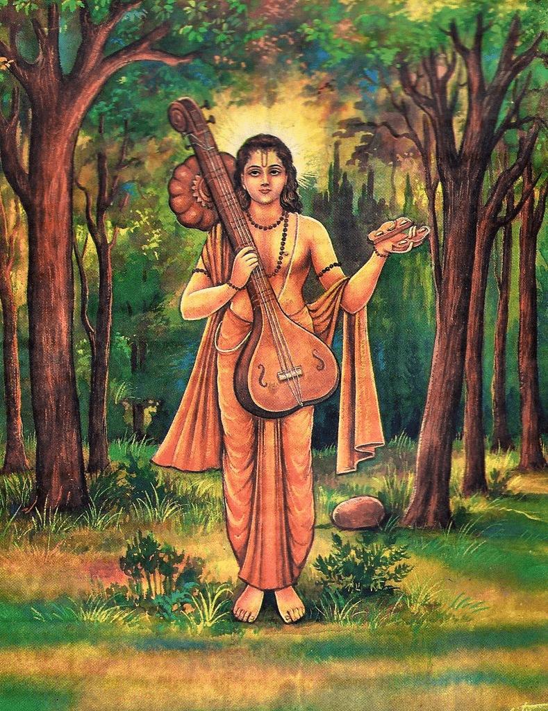 narada means Naara = Wisdom + Da = Giver) or Narada Muni is a divine sage (foto santoshat60)
