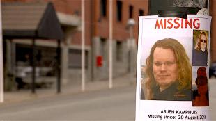 Arjen Kamphuis: Missing since 20 August 2018 (foto Hart van Nederland)