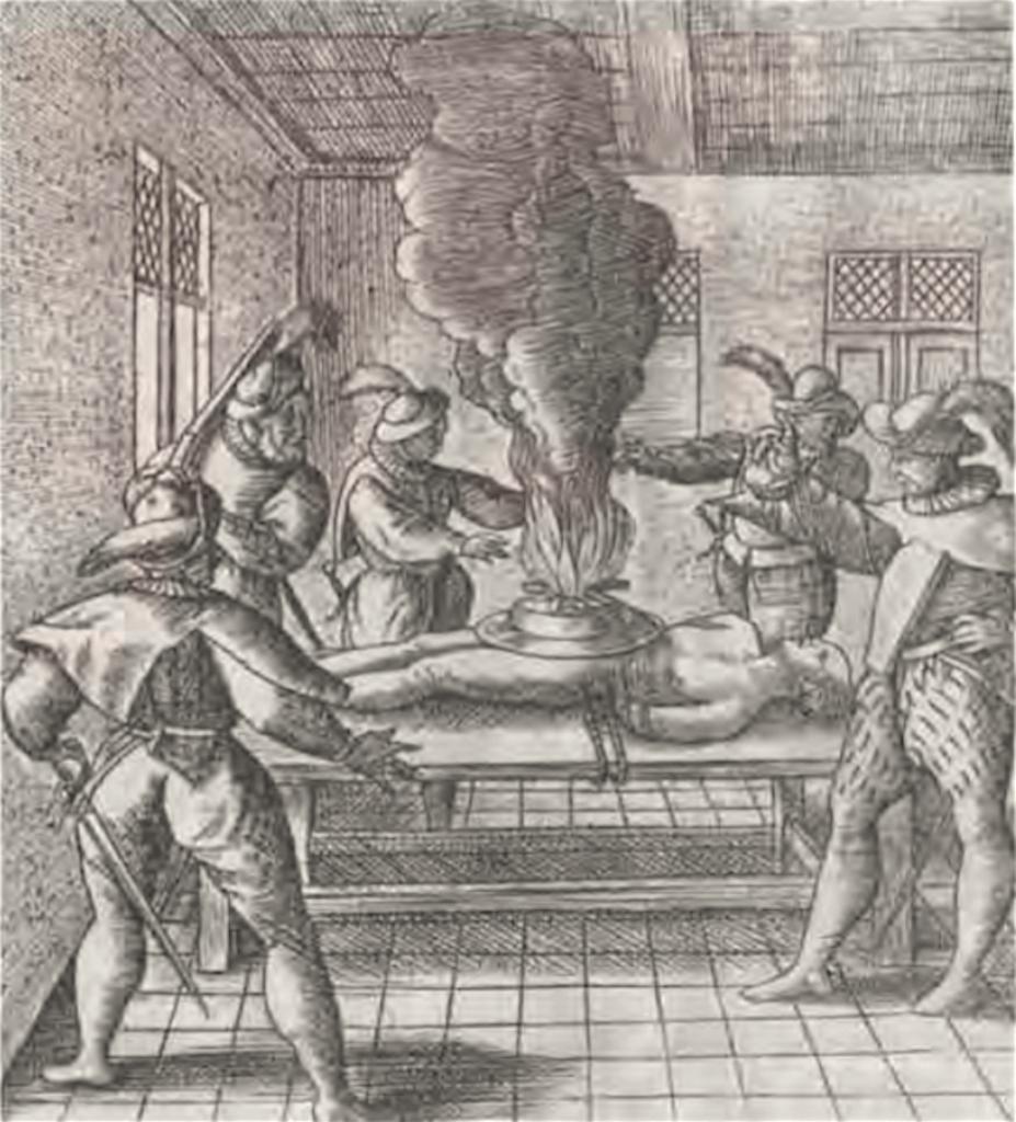 De foltering van Jan Jeroensz.