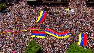 El pueblo de Venezuela (foto Twitter)