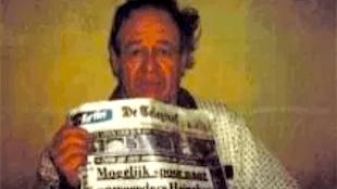 Freddie Heineken in gevangenschap met De Telegraaf (foto De Bovenkamer)