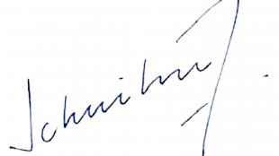 Handtekening Koen Schuiling (foto Gemeente Den Helder)