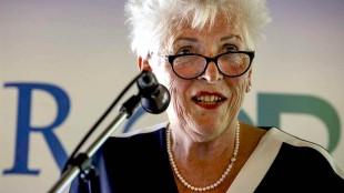 Hetty Hafkamp, opstappende burgemeester van Bergen (N.H., foto Raad voor het Openbaar Bestuur)