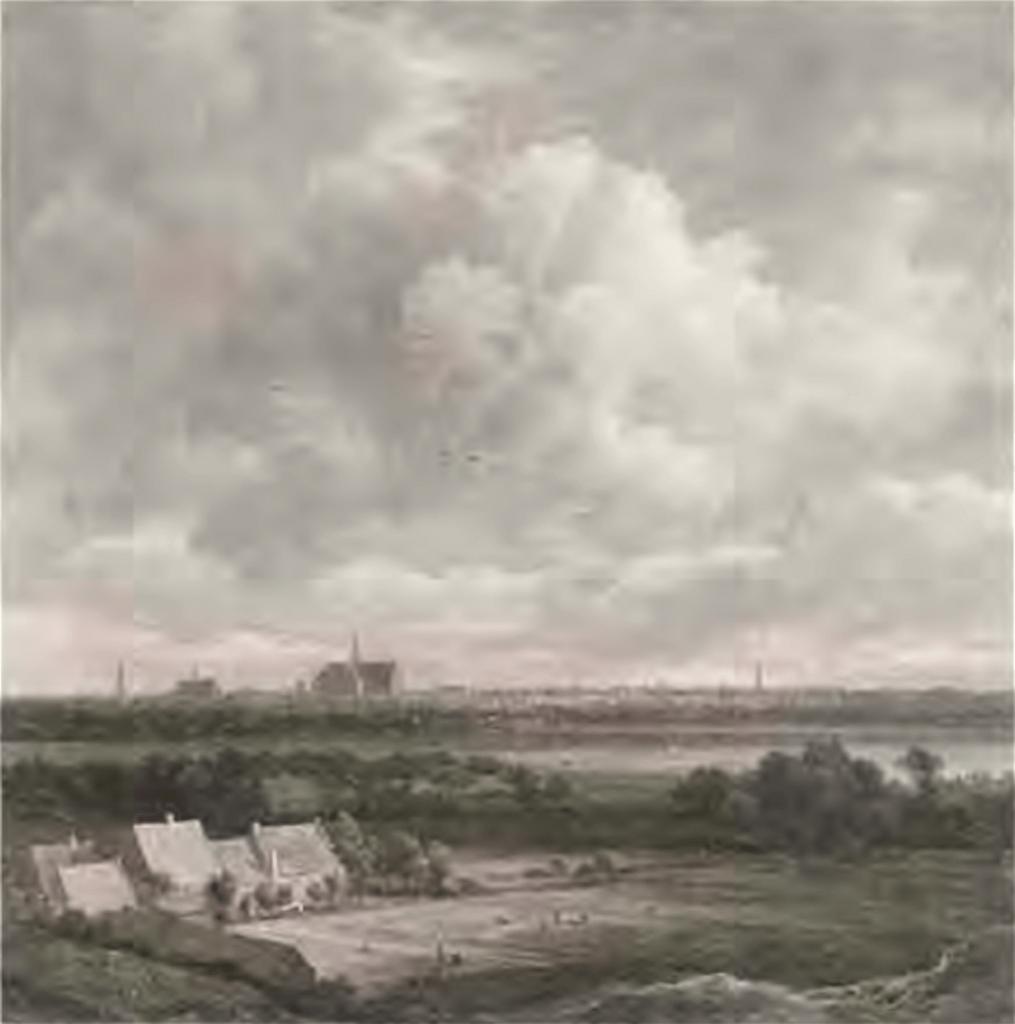 Jacob van Ruysdael - Haarlem in de duinen