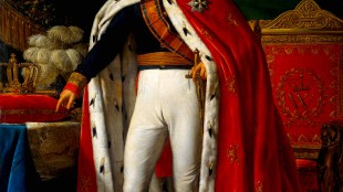 Koning Willem I in kroningsmantel (foto Wikipedia)