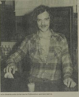 Krantenfoto Leidsch Dagblad zaterdag 7 april 1979