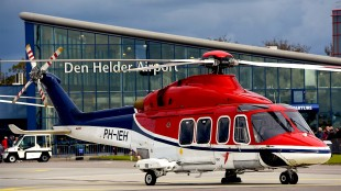 PH-IEH Agusta-Bell AB-139 CHC Helicopter op Den Helder Airport (foto Flickr)