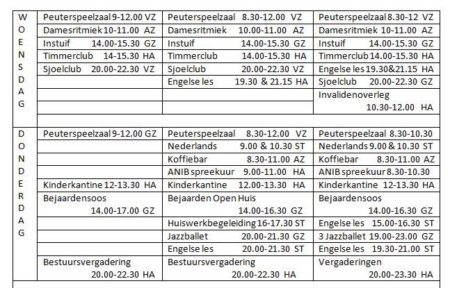 Programma 1976-77; 77-78; 78-79 (2)