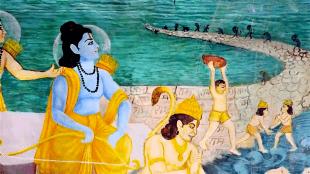 Ram Setu (foto newsclick.in)