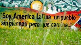 Soy America Latino… un pueblo sin piernas pero que camina (foto Spanish Media Project)