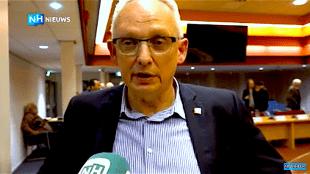 Stadspartij DH fractievoorzitter Harrie van Dongen (foto NH Nieuws)