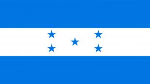 Vlag van Honduras (foto flagpedia.net)
