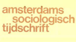 Amsterdams Sociologisch Tijdschrift (foto Rijksuniversiteit Groningen)