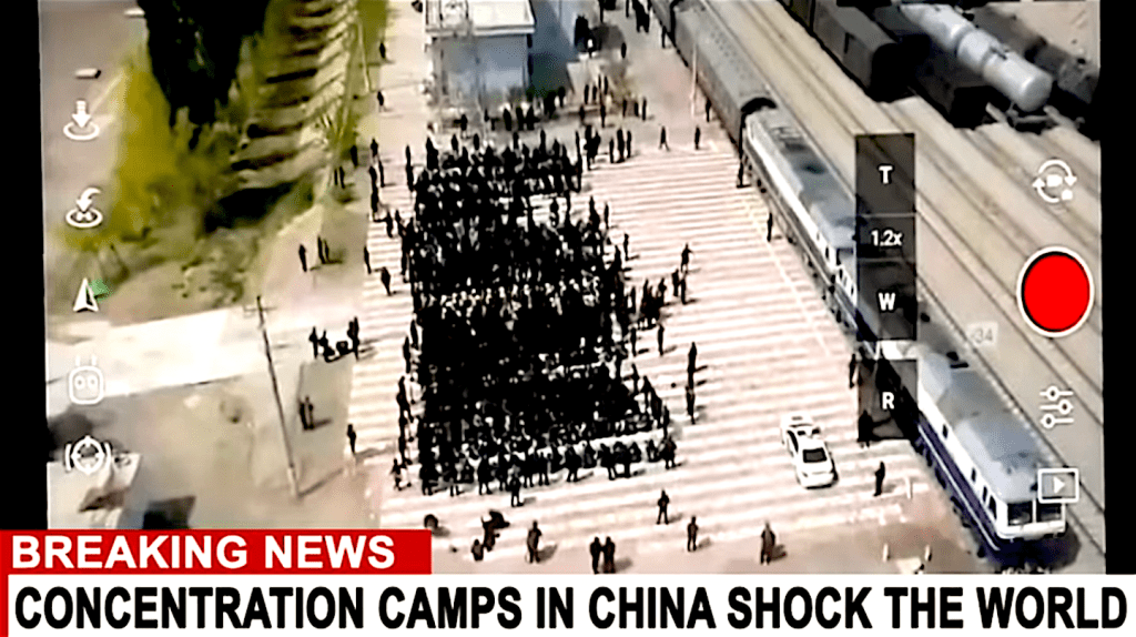 Stranger Than Fiction – Breaking: Chinese Concentration Camp Footage (Leaked Online)