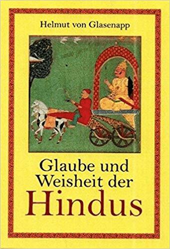 Helmuth von Glasenapp - Glaube und Weisheit der Hindus | Indische Geisteswelt (foto Amazon)