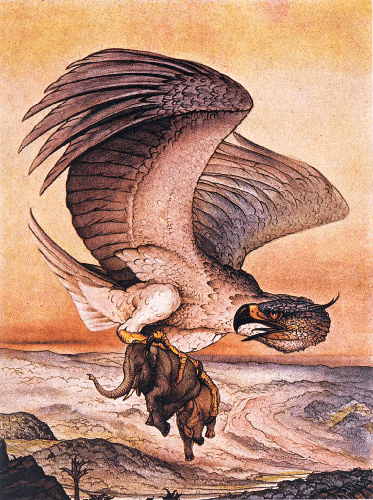 Roc by Charles Maurice Detmold (photo Wikipedia)