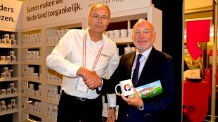 Wethouder Michiel Wouters praat met Dedicon over een inclusief Nederland (foto Dedicon/Twitter)
