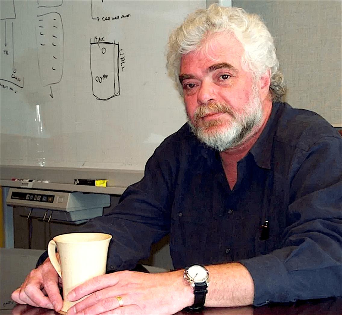 Dr Frank Plummer (foto Gumshoe News)