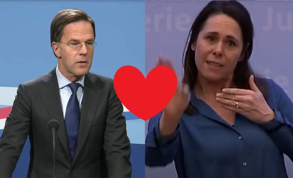 Mark Rutte ❤️ Irma Sluis