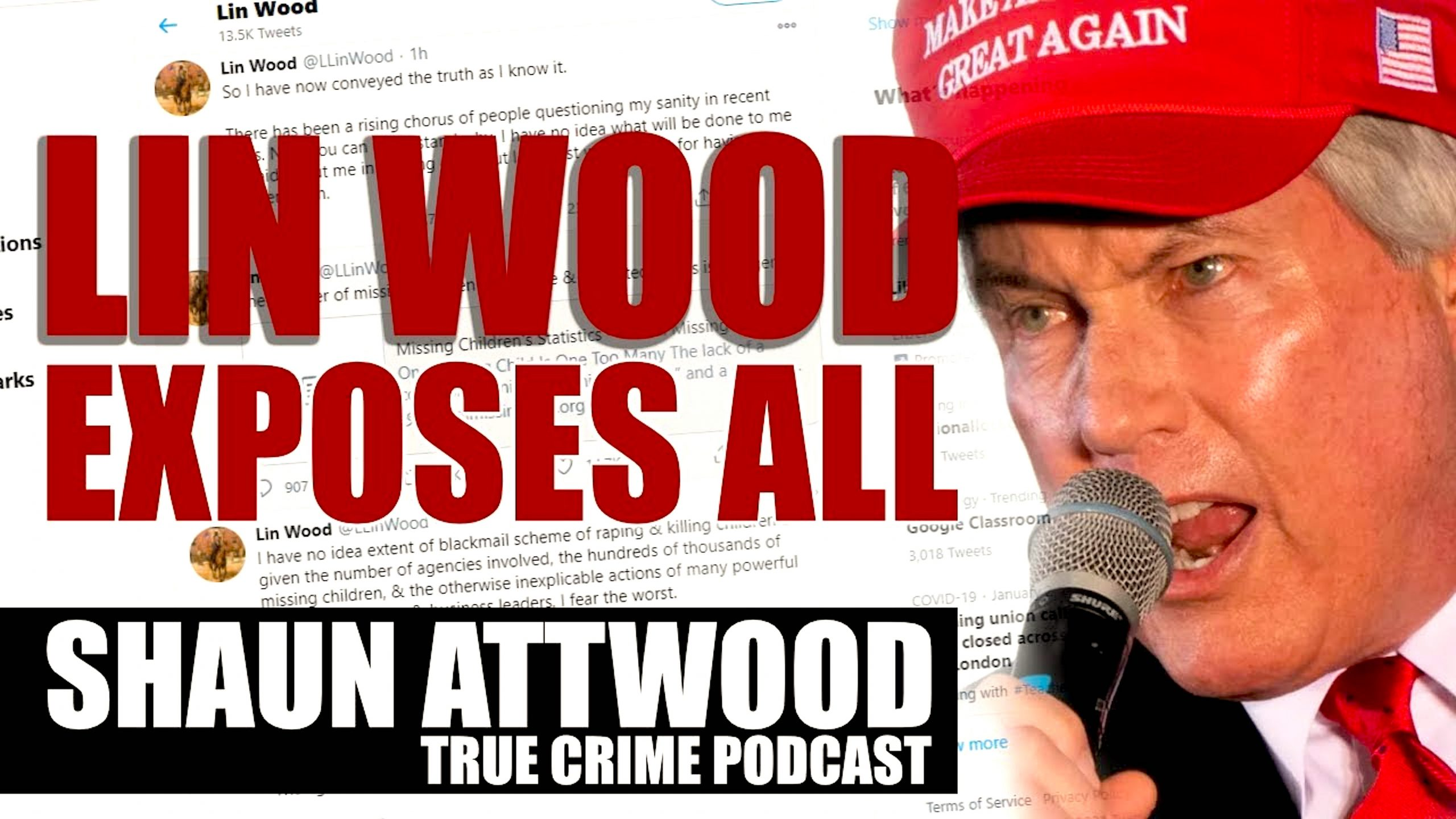 Shaun Attwood – Is Jeffrey Epstein Alive? + Lin Wood Exposes All On Twitter